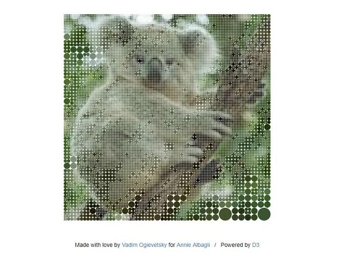 Screenshot from Koalas To The Max website