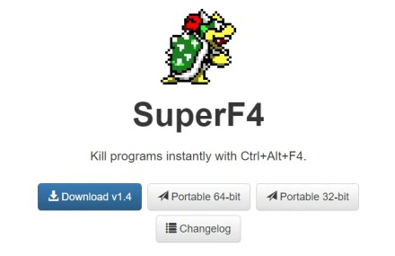 SuperF4 Windows