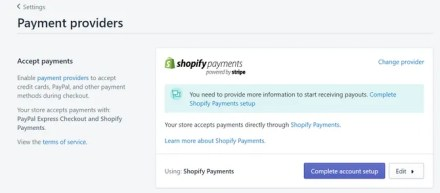 Shopify Payment Options PayPal Amazon Pay