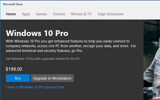 Mua Windows 10 Pro Microsoft