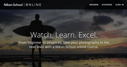 Courses from Nikon School