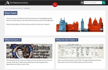 Trace the history of your house with the National Archives