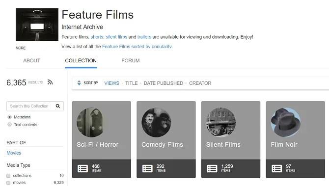 internet archive videos