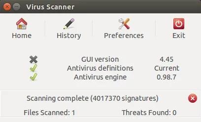 linux antivirus clam av clam tk