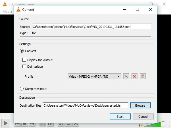 Используйте VLC Player для исправления поврежденного файла MP4.