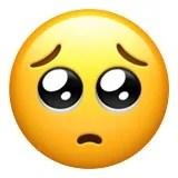puppy dog eyes emoji emoticon