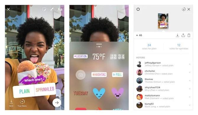 Take polls on Instagram Stories