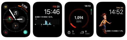 Apple Watch Complications ActivityTracker App
