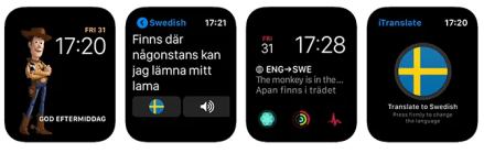 Apple Watch Complications iTranslate App