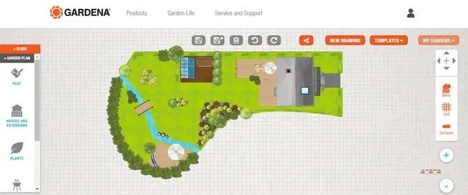 Gardena Garden Design Planner