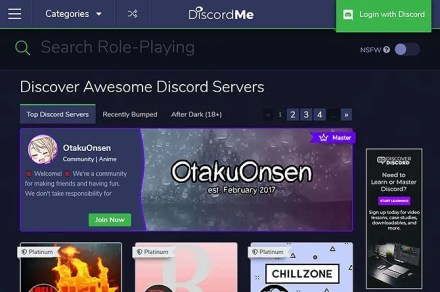Find the Best Discord Servers - Discord Me