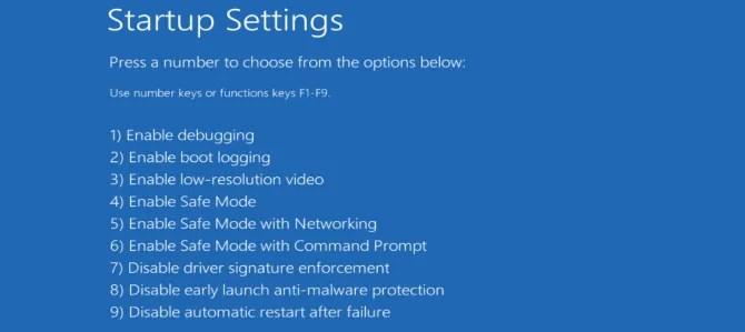 Khởi động máy tính của bạn vào Chế độ an toàn