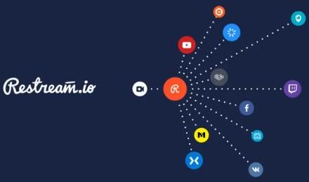 Restream.io multistreaming platform