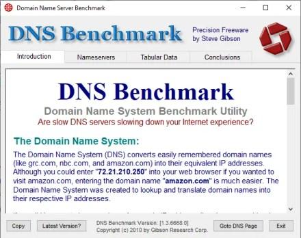 dns bench dns test tool
