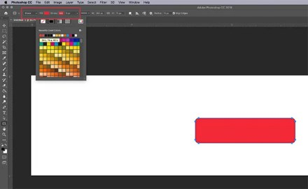 Change Color of Rectangle in Photoshop