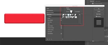 Contour Rectangle in Photoshop