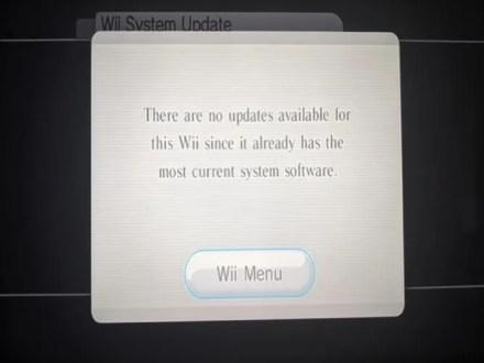 Wii System Update
