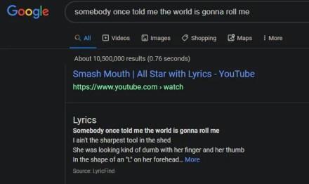 Google Lyrics