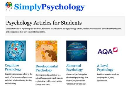 Simple Psychology Website