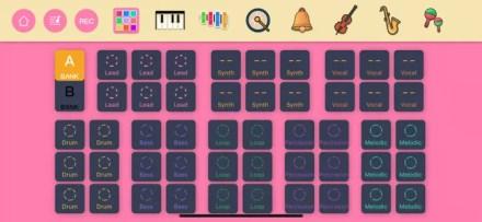 """The """"DJ Mixer"""" app from Divoom"""