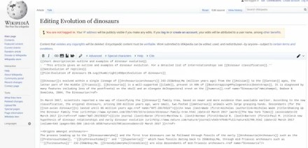 edit articles on Wikipedia