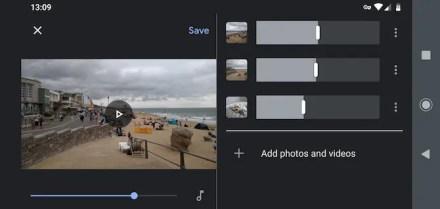 google photos auto edit videos