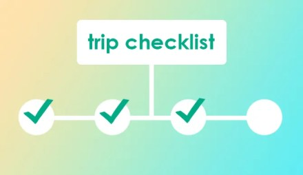 Make a Checklist for Your Group Trip