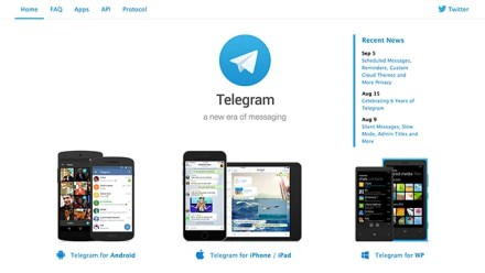 Use Telegram to Talk to Friends on Trip