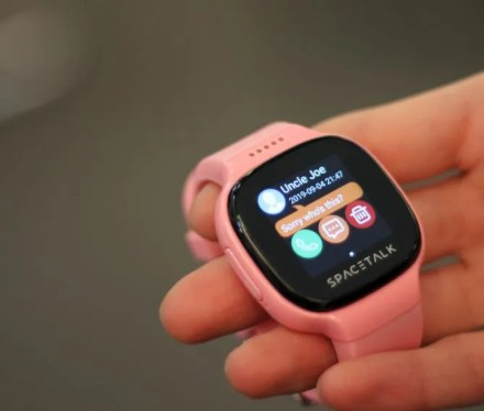 spacetalk is a smartwatch for kids