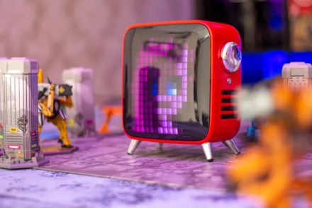 The Tivoo Max is a Retro Pixel Art Display That Doubles as a Thumping Bluetooth Speaker tivoo max photo overview
