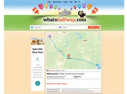 WhatsHalfway Halfway Point