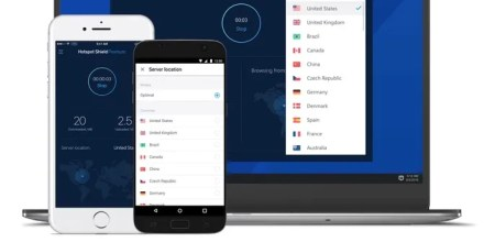 Hotspot Shield on different devices