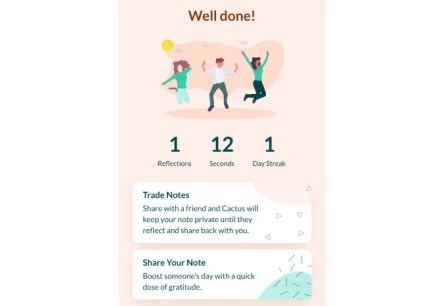 Cactus is a mood tracker and journaling app that guides beginners