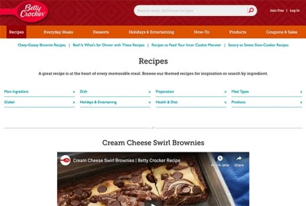 Betty Crocker Recipes
