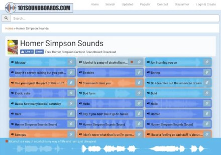 101 Soundboards has several readymade soundboards