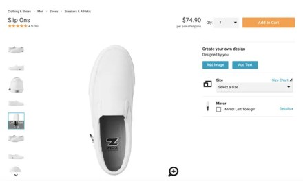 Design Your Own Shoes Online with Zazzle