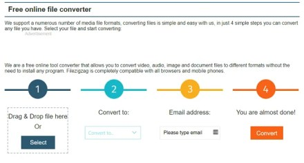 filezigzag audio converter