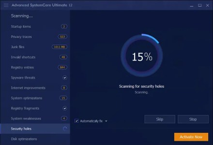 iobit systemcare speed up hard drive
