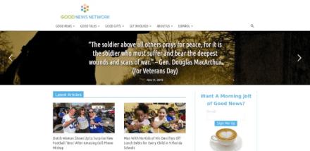 Good News Network website