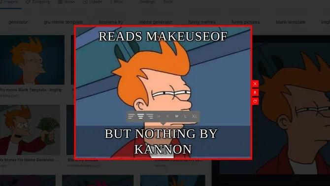 Memefy This is the fastest meme maker extension on Chrome