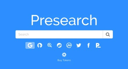 Presearch lets you earn cryptocurrency by doing web searches
