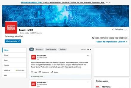 How to Message a Company on LinkedIn