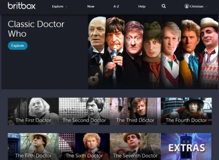 Watch Doctor Who online with Britbox