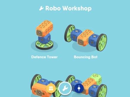 robolive app robot designs