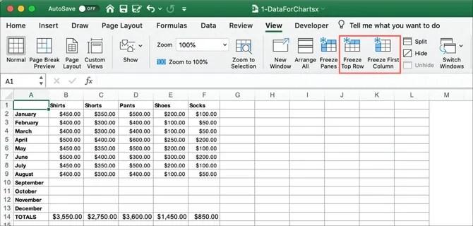 Microsoft Excelで行,記録されている情報を失わずに,利用這個功能可以解決在觀看Excel數據時,凍結する方法 ...