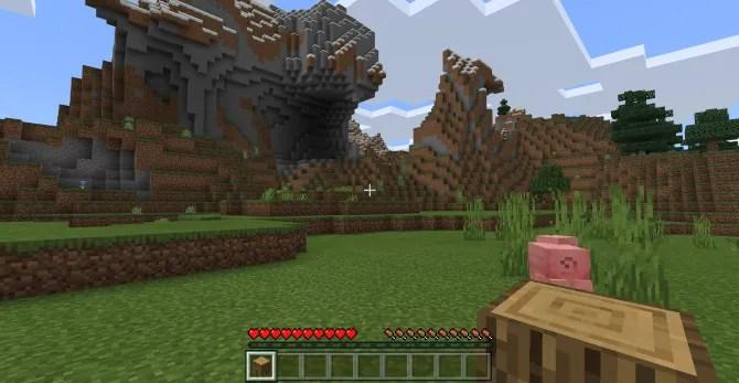 Переключитесь из режима выживания в творческий режим в Minecraft