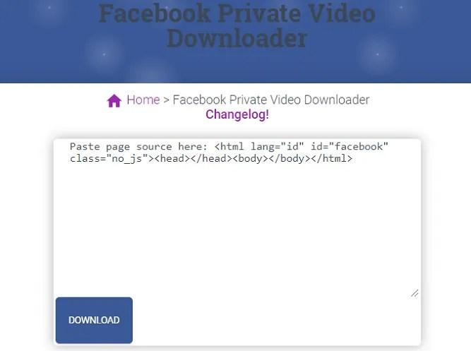 скачать видео на фейсбуке