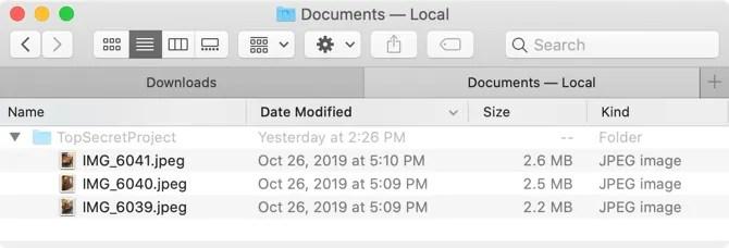 Скрытая папка не скрытые файлы на Mac