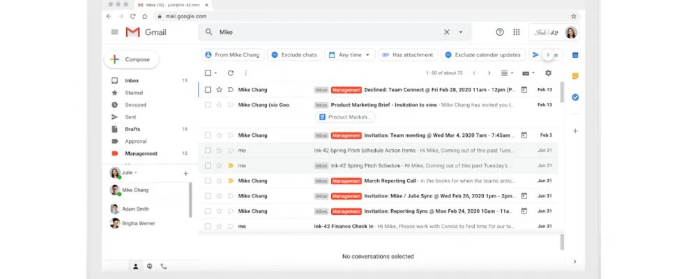 Gmail's New Search Filters Help You Find Emails Faster