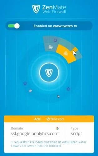 Обзор ZenMate VPN: размышление о вашей конфиденциальности Обзор ZenMate Chrome Ads